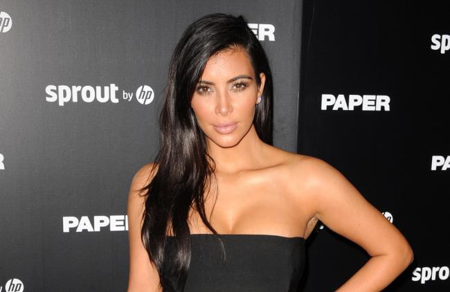 Kim elevó la temperatura en las redes.