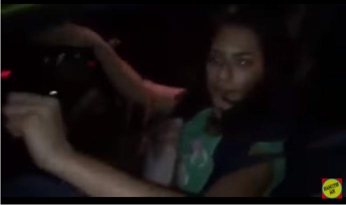 Llaman #LadyTuleña a mujer que atropella a motociclista y huye (VIDEO)