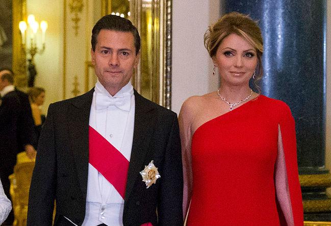 2015: Un año difícil para Peña Nieto y su esposa