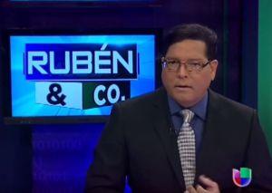 Rubén Sánchez queda fuera de Univision