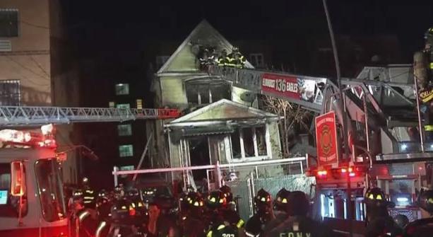 Incendio deja nueve heridos en vecindario de Queens