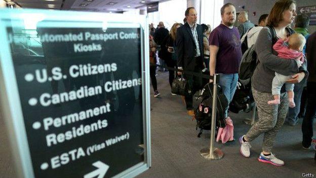 DHS: Más de medio millón de extranjeros se quedaron en EEUU con visas vencidas en 2015