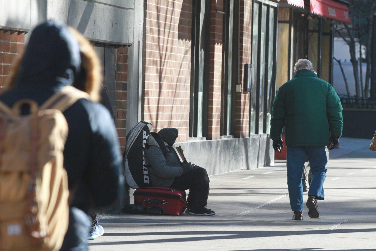 El 31% del total de desamparados de la ciudad son hispanos.