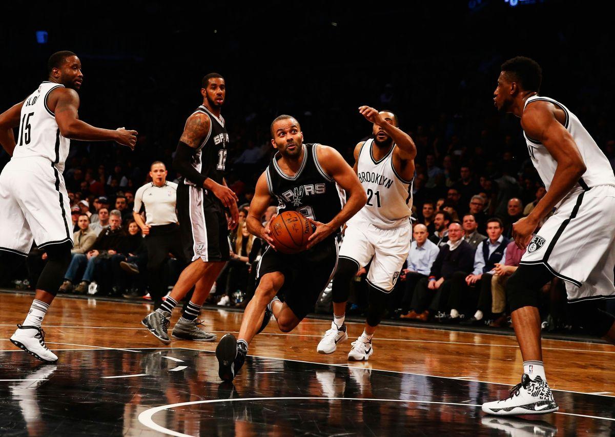 Spurs dan una lección a los nuevos Nets