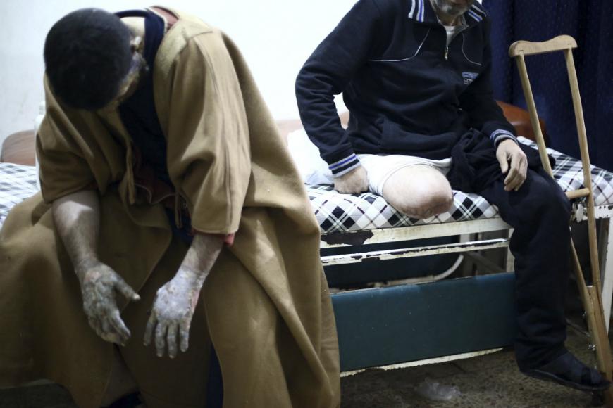 Al menos 42 muertos por bombardeos en el norte de Siria