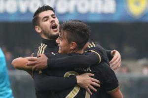 Doblete de Morata sube al subliderato a la Juventus