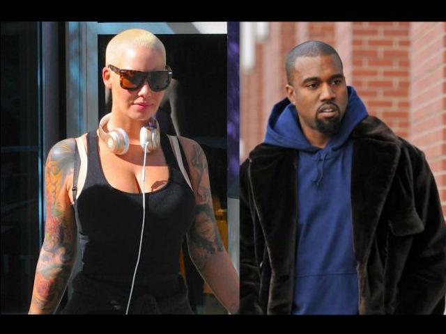 Amber Rose arremetió contra Kanye West tras pelea con Wiz Khalifa