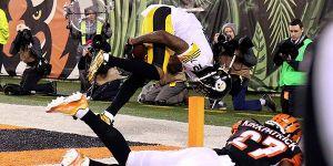 Playoffs de la NFL: la atrapada de Martavis Bryant para la historia de los Steelers de Pittsburgh