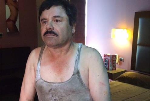 El 42% de mexicanos a favor de extraditar al Chapo a EEUU