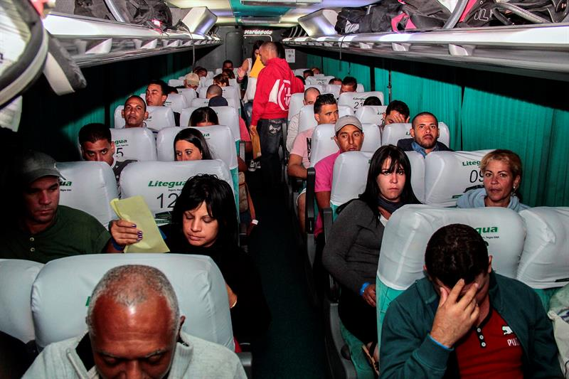 Migrantes cubanos comenzaron viaje hacia EEUU