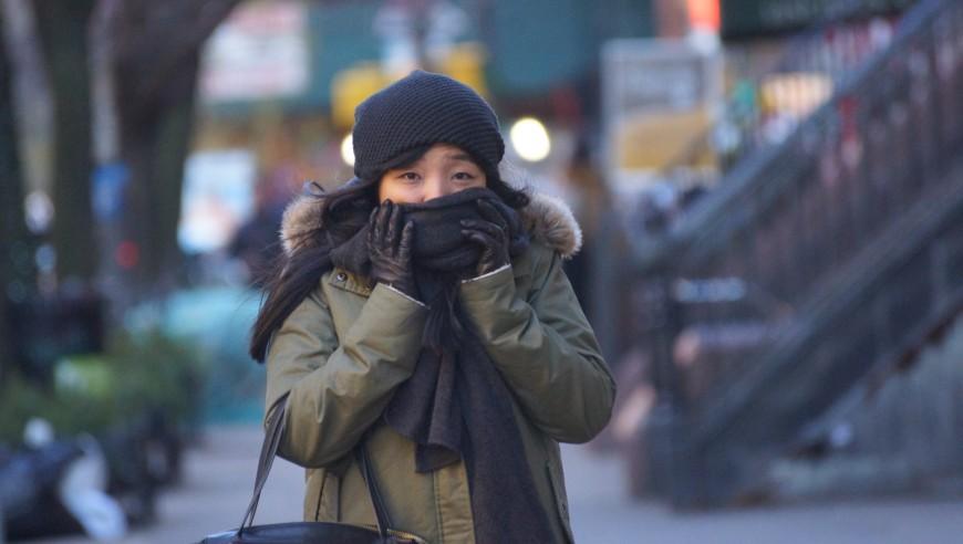 Neoyorquinos enfrentan hoy temperaturas congelantes