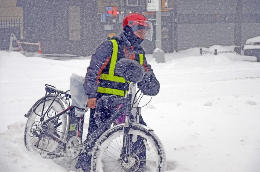 Latinos imparables: Trabajando a pesar de la tormenta (fotos)