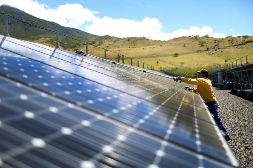 Países con casi 100% de electricidad renovable