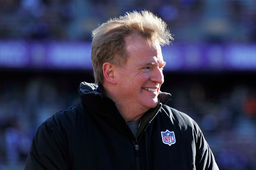 Comisionado de NFL extiende contrato por una cifra que deprime a la humanidad