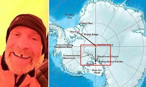 Muere explorador intentando caminar solo 1,000 millas en la Antártica (VIDEO)
