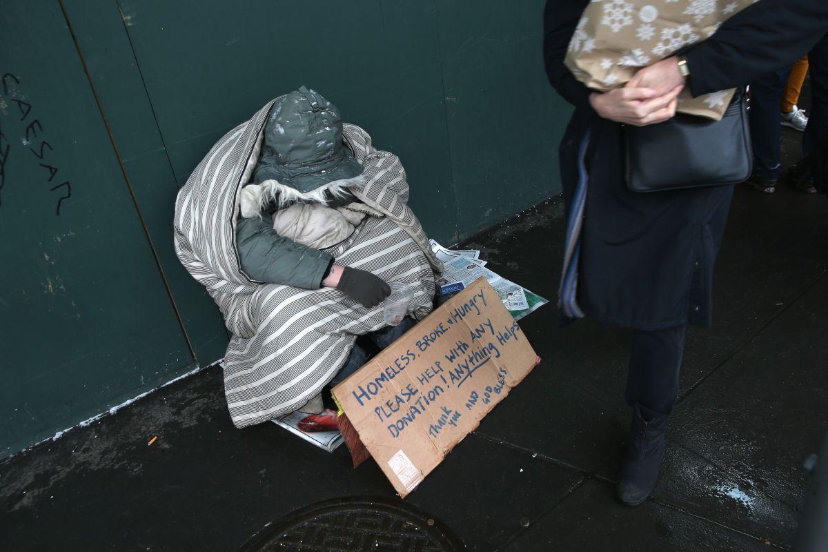 Recogen a desamparados de las calles por el frío extremo