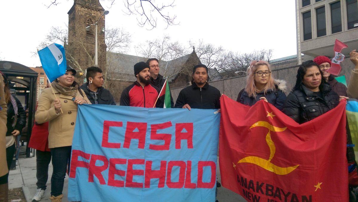 Activistas hacen frente a redadas de ICE en Nueva Jersey (fotos)