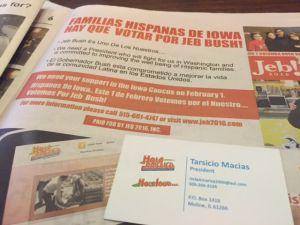 Latinos de Iowa van a los candidatos, aunque estos no vayan hacia ellos (videos)