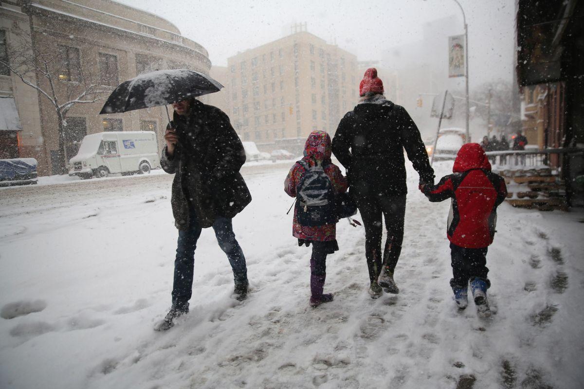 Se lanzó un alerta de tormenta de nieve para la ciudad de Nueva York, Long Island y algunas partes de Nueva Jersey