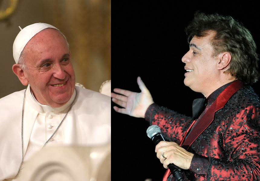 Escucha el nuevo tema que Juan Gabriel ha dedicado al Papa