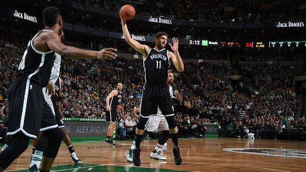 Con 30 puntos de Brook Lopez, Nets sacan gran triunfo en Boston