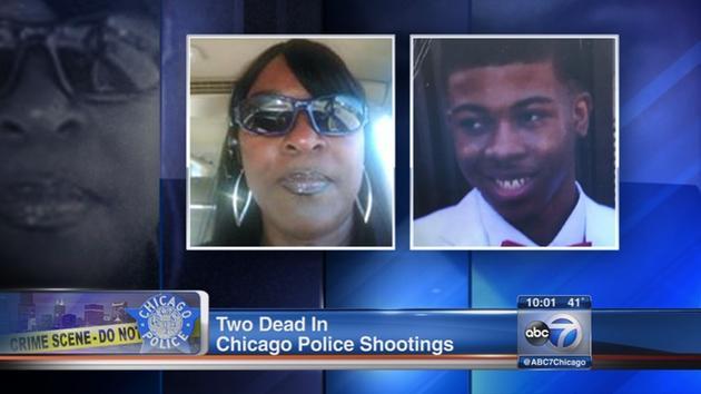 Un policía demanda a familia de joven afroamericano que mató a balazos