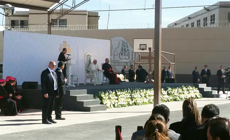 El Papa Francisco visitó a reos en Ciudad Juárez