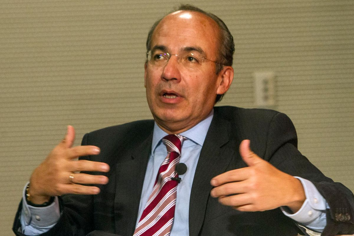 El expresidente de México Felipe Calderón.