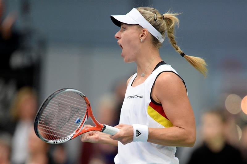 La tenista alemana Angelique Kerber desconoce el paradero del trofeo que la acredita como campeona del Abierto de Australia.