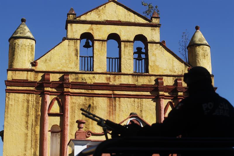 San Cristóbal de las Casas, Chiapas en espera del papa Francisco.