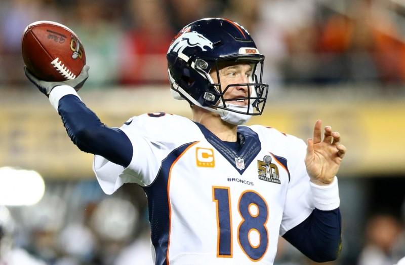 Peyton Manning no sabía que este sería su último pase completo en su carrera.