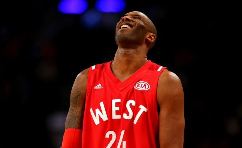 El legendario Kobe Bryant se despidió del Juego de Estrellas en medio de una ovación