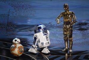 Star Wars, los Minions y Toy Story tomaron la gala de los Oscar (videos)