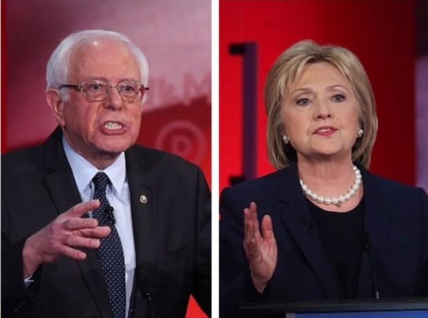 El mapa hacia la nominación presidencial favorece a Clinton