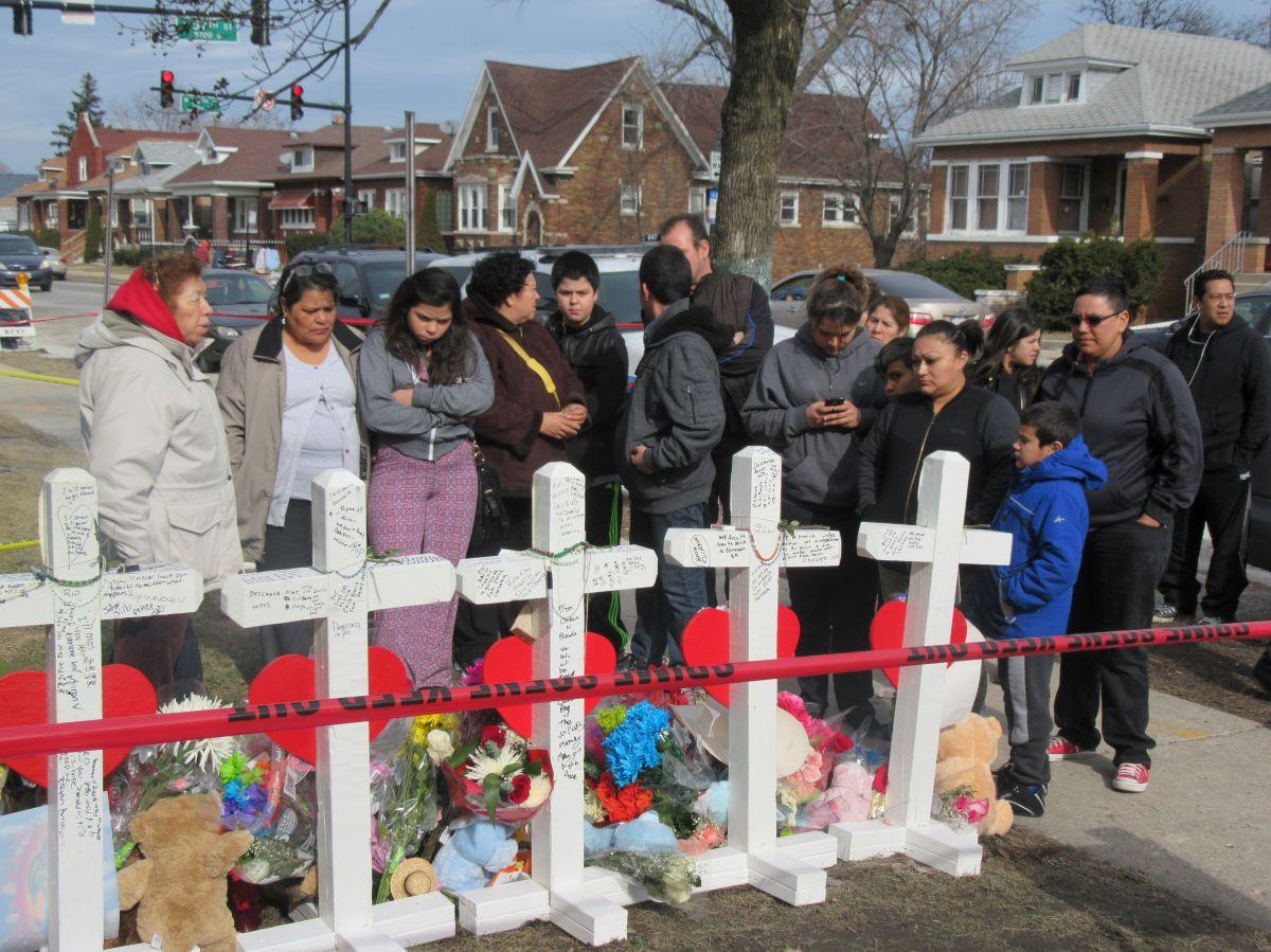 Familiares de la familia mexicana asesinada están en Chicago con visas humanitarias