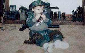 La industria de las armas tiene en la mira a los niños
