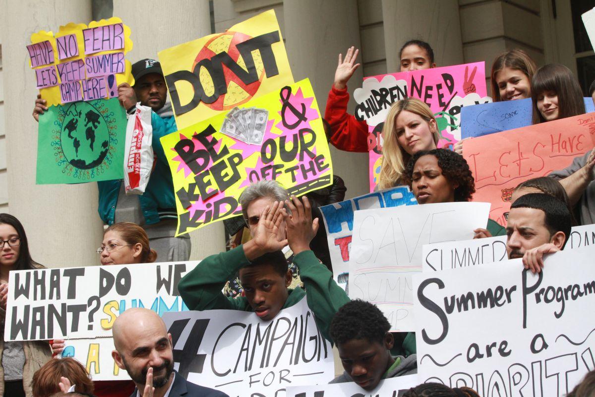 Recorte de fondos dejaría a 31,000 niños sin escuela de verano