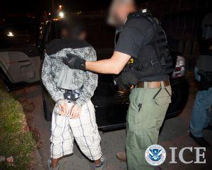 ICE arresta a 1,133 personas implicadas en pandillas y crimen organizado