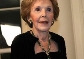 Fallece ex primera dama Nancy Reagan