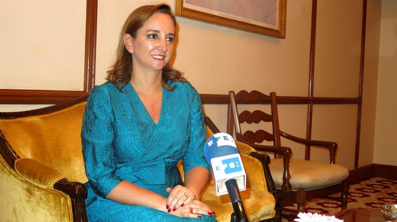 Claudia Ruiz Massieu, secretaria de Relaciones Exteriores.