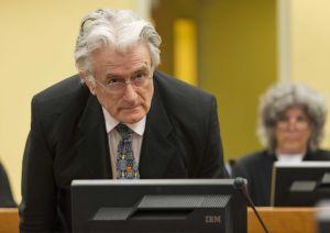 Radovan Karadzic condenado a 40 años por genocidio