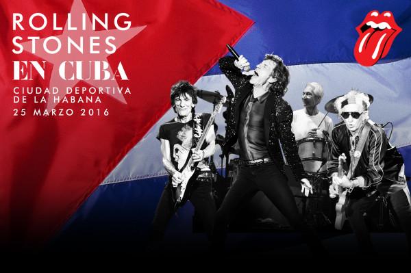 The Rolling Stones anuncian histórico concierto gratuito en Cuba