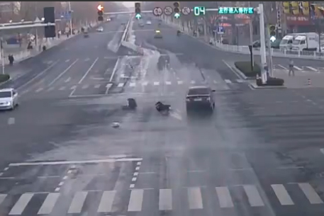 El incidente ocurrió en China.