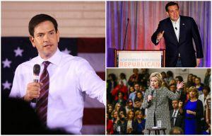¿Cómo les fue a Marco Rubio, a Ted Cruz y a Hillary Clinton en los caucus?