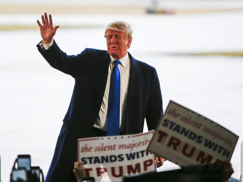 Donald Trump  y sus reacciones tras ataques en Bruselas