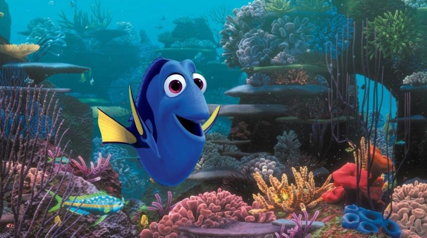 Finding Dory de Disney y Pixar contará la historia de la graciosa pececita azul que ayudó a Marlin a encontrar a Nemo.
