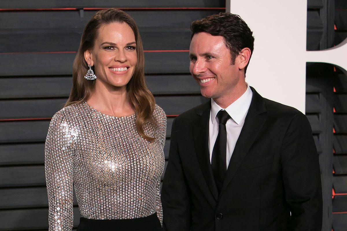 ¡Hilary Swank y el colombiano Rubén Torres se casan!