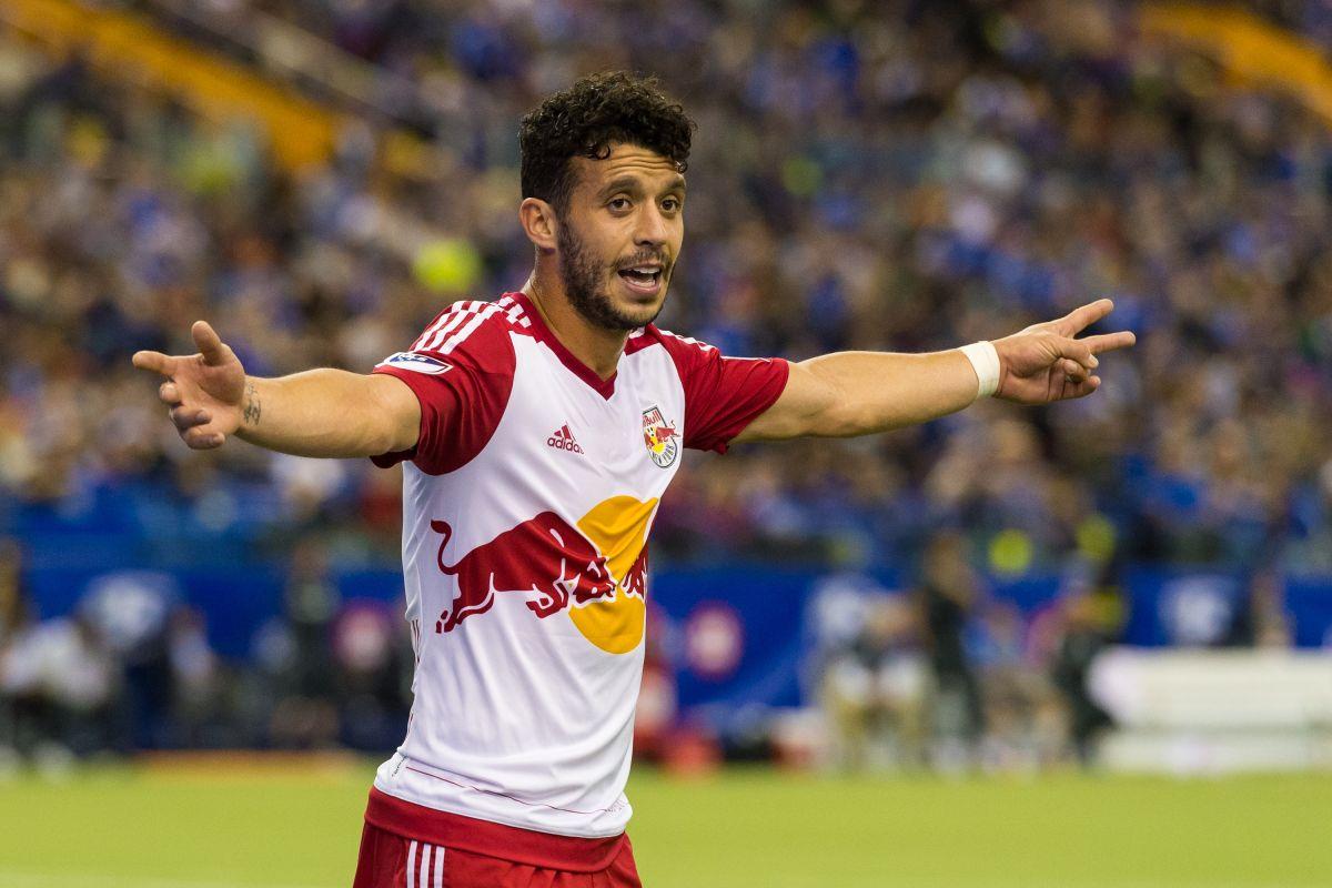 Felipe consiguió un doblete en los últimos partidos del juego para la voltereta 4-3 de Red Bulls sobre Dynamo. Getty Images
