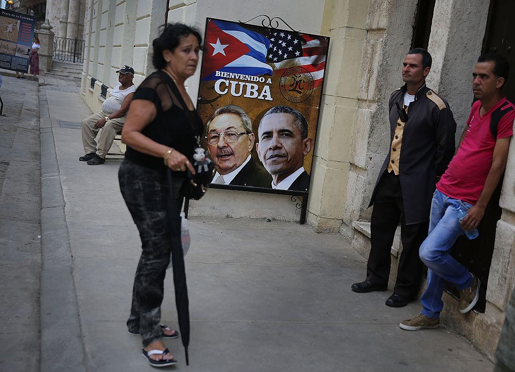 La Habana recibió al presidente Barack Obama. Foto: Getty