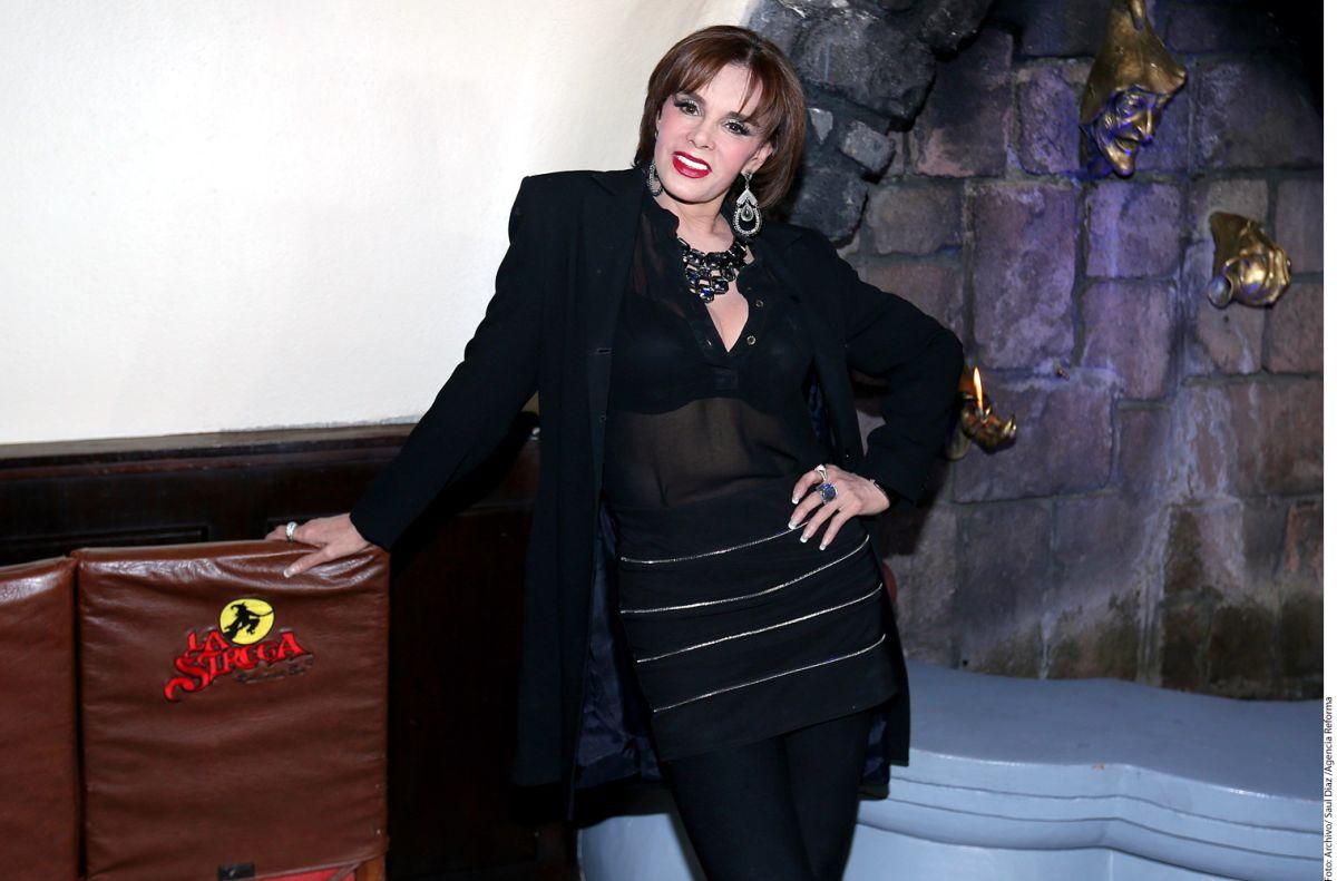 Lucía Méndez quiere dueto con Juan Gabriel